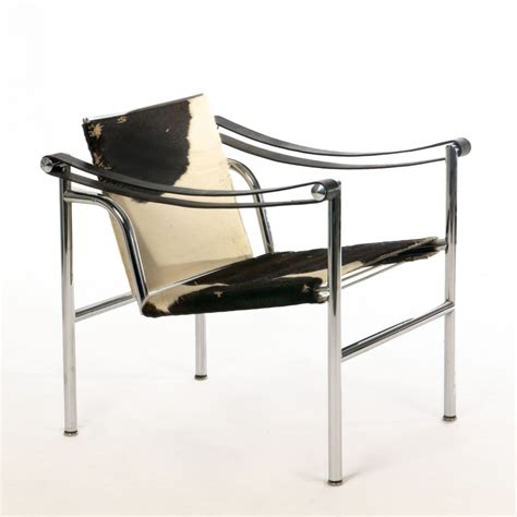 Chaise Le Corbusier Lc1 by Lc1 Ponyskin Lounge Chair By Le Corbusier For Cassina 53711