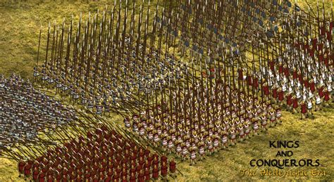 seleucid phalanx image kings  conquerors