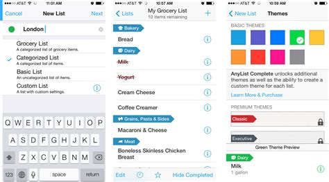 anylist app for android best app for grocery list grocery list template