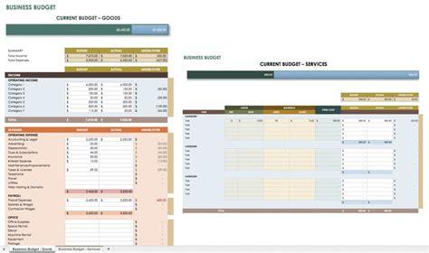 business plan budget template all the best business budget templates smartsheet