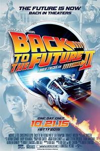 Image - Back to the Future Part II 2015 Re-Release Poster ...