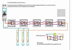 Schema Electrique Va Et Vient 3 Interrupteurs : casse t te va et viens 5 interrupteurs ~ Medecine-chirurgie-esthetiques.com Avis de Voitures