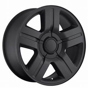 26 U0026quot  Chevy Silverado  Suburban Wheels Texas Edition Satin Black Oem Replica Rims  Oem002