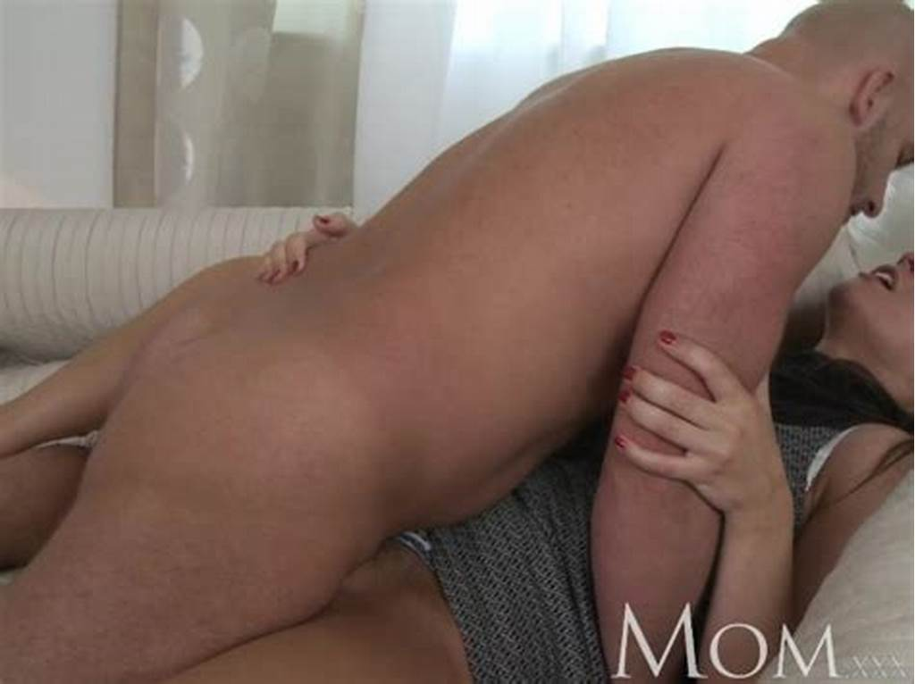 #Mom #Sophisticated #Brunette #With #Hairy #Pussy #Swallows #A