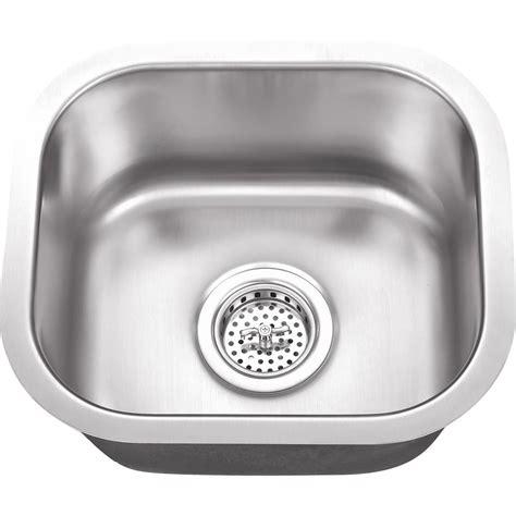 18 gauge stainless steel sink ipt sink company undermount 15 in 18 gauge stainless