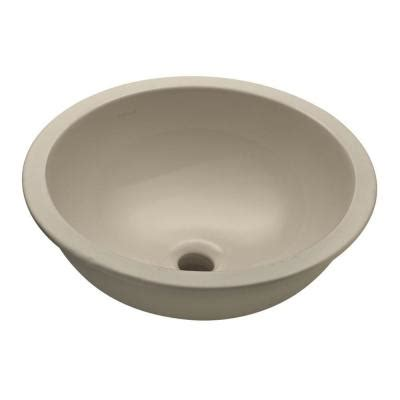 Undermount Bathroom Sinks At Home Depot by Kohler Camber Undermount Bathroom Sink In Sandbar K2349sa