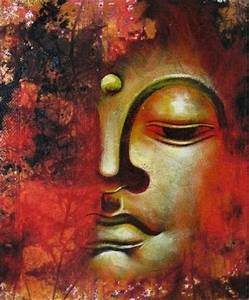 Buddha Quotes Online: Lord Buddha Half Face Painting HD ...