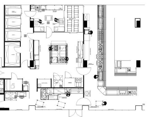 resultado de imagen de cocina hotel plano arquitectura