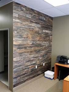 hometalk accent wall made with pallet wood With what kind of paint to use on kitchen cabinets for reclaimed wood wall art diy