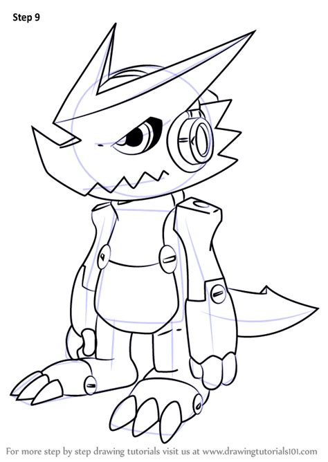 learn   draw shoutmon  digimon fusion digimon fusion step  step drawing tutorials