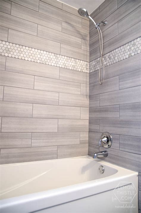 home depot wall tile bathroom remodelaholic diy bathroom remodel on a budget and