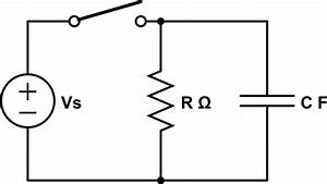 capacitor why do different resistor values dissipate With circuit rc