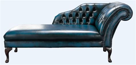 blue chesterfield chaise lounge day bed designersofasu