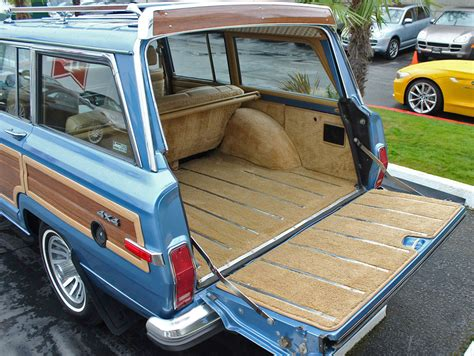 1991 jeep wagoneer interior 1988 jeep grand wagoneer rear cargo area classic cars