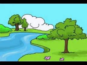 Easy Drawings of Nature Scenery