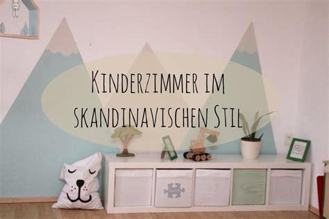 Kinderzimmer Wandgestaltung Berge by Wie Wir Dem Kinderzimmer Einen Skandinavischen Stil