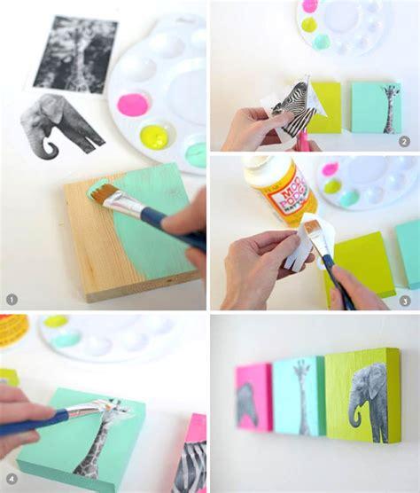 1001 ideen wie sie eine kreative wanddeko selber machen