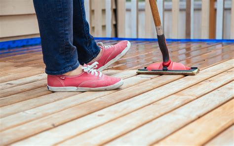 Restaining A Deck by Staining Or Restaining Your Deck Part 1 Timing And Tips