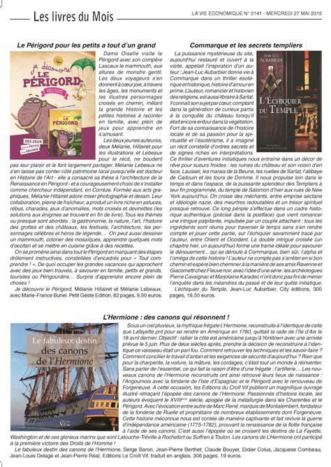La Vie Economique by Presse Autour De 171 L 233 Chiquier Du Temple 187 Jean Luc
