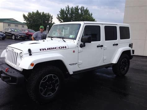 Our New Baby! 2015 Jeep Wrangler Unlimited Rubicon Hard