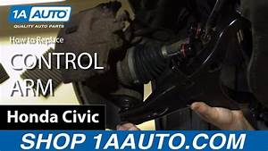 How To Replace Control Arm 01