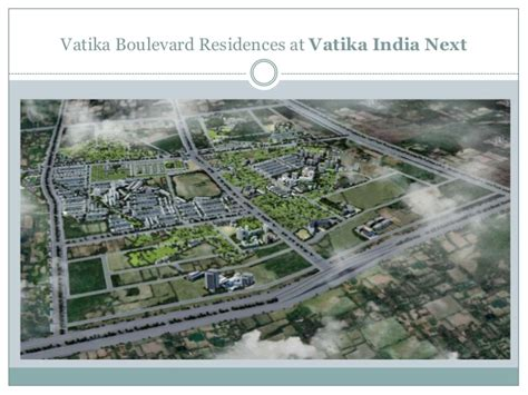 vatika boulevard residences upcoming project  vatika