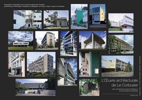 batijournal l œuvre architecturale de le corbusier une contribution exceptionnelle au mouvement