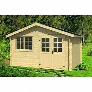 Abri De Bois : abri de jardin en bois alaska 11 69 m abris de jardin ~ Melissatoandfro.com Idées de Décoration