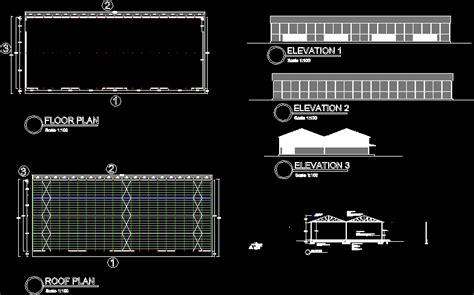 clinker storage shed dwg block  autocad designs cad