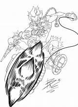 Junkrat Overwatch Coloring Lineart Blizzard Entertainment Sketch Deviantart Template sketch template