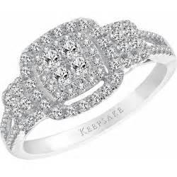 keepsake wedding rings keepsake bestow 1 2 carat t w sterling silver engagement ring wedding