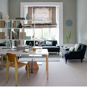 open plan home office functional living room ideas With home office living room ideas