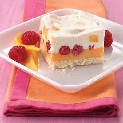 Frozen Desserts mango raspberry frozen dessert recipe land o lakes