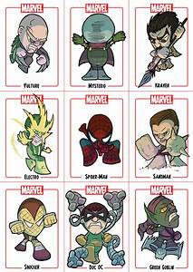 Chibi Spider-Man Sheet 1 by Juggertha on DeviantArt