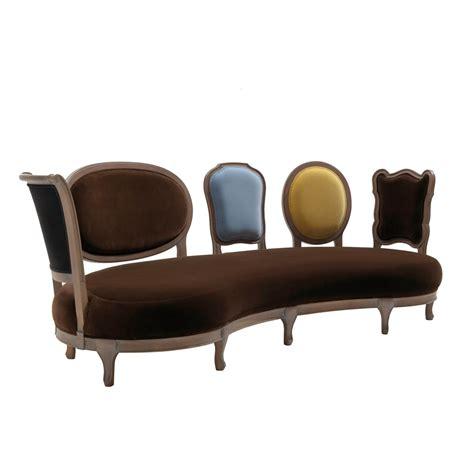 canapé en bois massif canapé design luxe 5 dossier en bois massif produit en