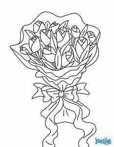 coloriages bouquet de fleurs frhellokidscom With chambre bébé design avec bouquet de fleurs dessin
