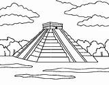 Chichen Itza Coloring Temple Pyramids Pyramid Teotihuacan Cashadvance6online Coloringcrew Mexic Mahal Taj Pyramide Pages Bank Coloriage Dessin Piramides Template Childrencoloring sketch template