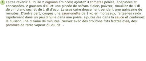 cuisiner la saumonette recette saumonette a la provençale facile et rapide
