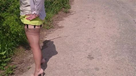 outdoor tease in my fully fashioned nylons free hd porn bf