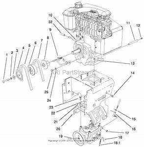 Toro 38560  1028 Power Shift Snowthrower  2002  Sn