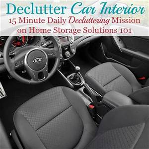 How to declutter your car interior keep it that way for Car interior storage solutions