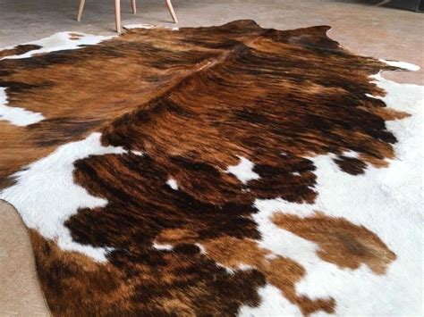 Cowhide Rug by Cowhide Rug Tricolor Cow Hide Area Rugs Hair On
