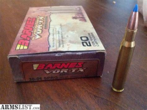 Barnes 30-06 Vor-tx Ammo