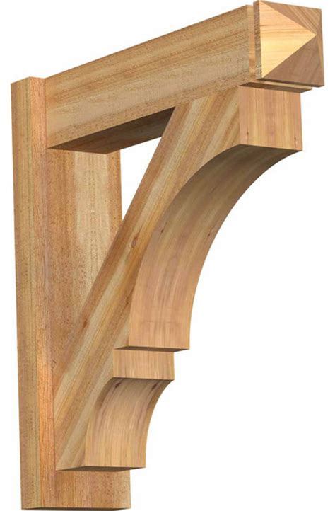 Craftsman Corbel by Balboa Sawn Arts And Crafts Outlooker Western