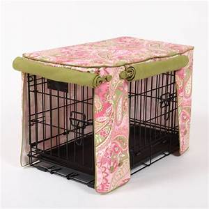 Pet crate covers fabrics color and design selections for Beautiful dog crates