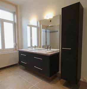 wwwlyniumfr mobilier sur mesure lynium metz salles With salle de bain design avec colonne salle de bain