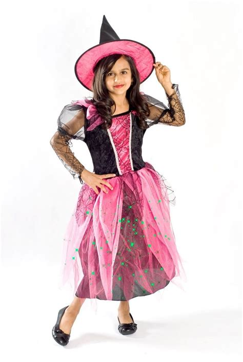 light up costumes details about witch costume black light up pink
