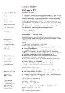 resume cabin crew fresher cv resume exles to for free