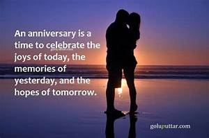 Awesome Anniversary Quote – It Is A Time To Celebrate Joys ...