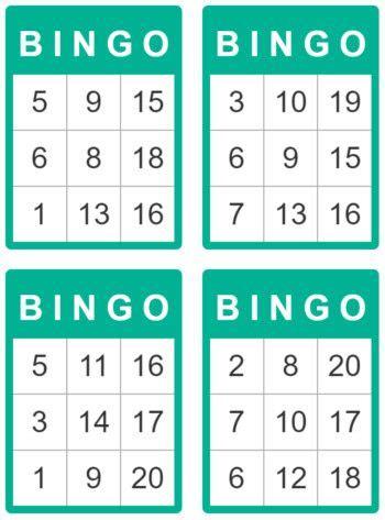 bingo cards  kids    kg maths kids cards